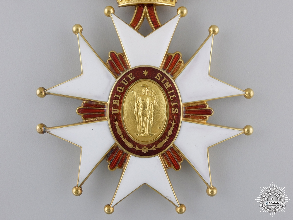 A Tuscan Order of Saint Joseph in Gold by Rothe; Grand Cross