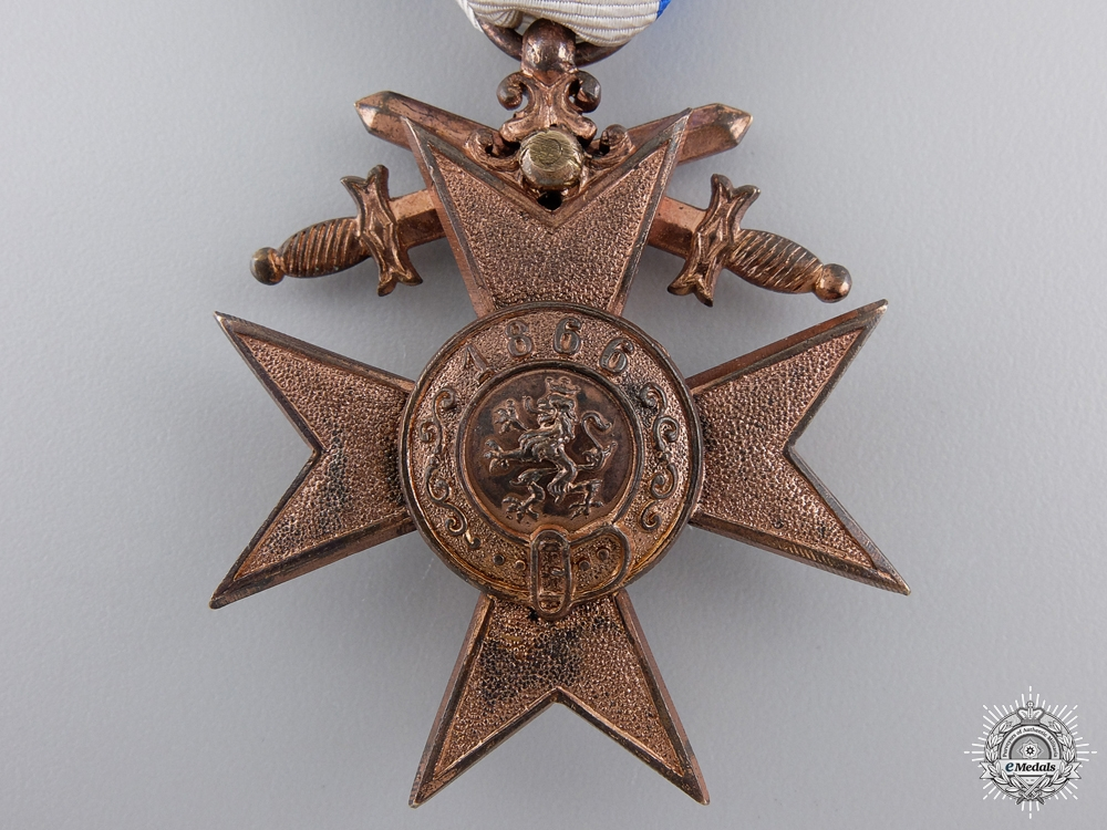 A Bavarian Military Merit Cross; 3rd Class by Weis & Co.