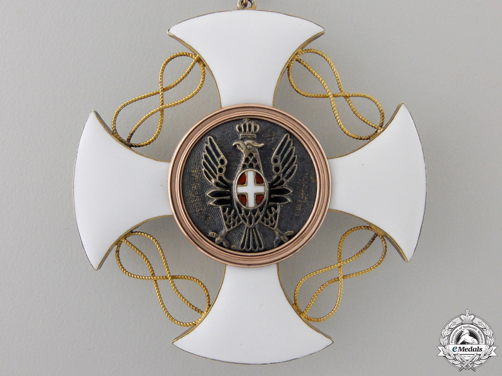 An Italian Order of the Crown; Grand Officer Set