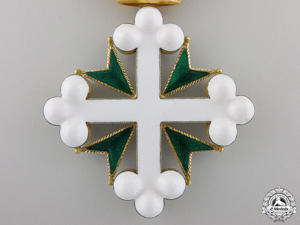 An Italian Order of St. Maurice & Lazarus in Gold; Named