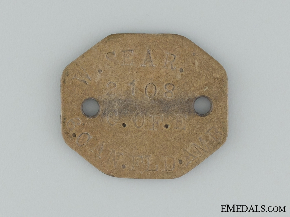 WWI Medals & ID Tag to the Canadian Army Medical Corps