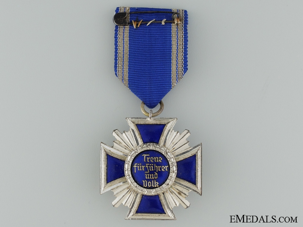 A Cased NSDAP Long Service Award; 15 Years Service