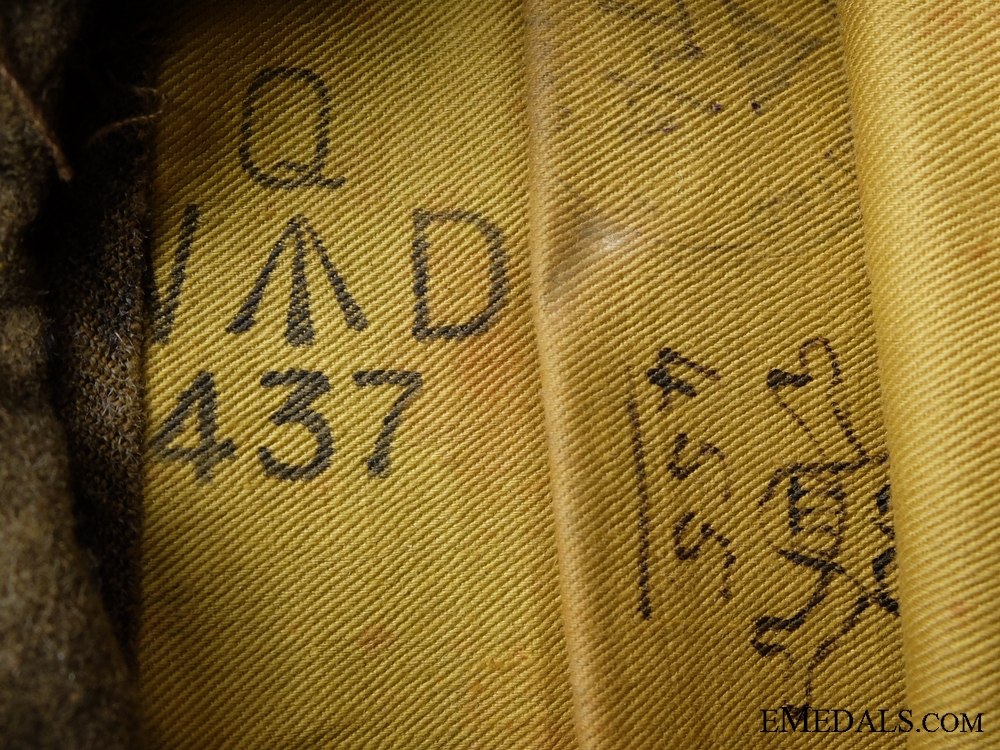 WWII Finnish Winter War Campaign Pair and Side Cap to C.D. Roberts