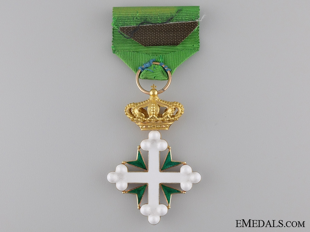 An Italian Order of St. Maurice and St. Lazarus in Case of Issue