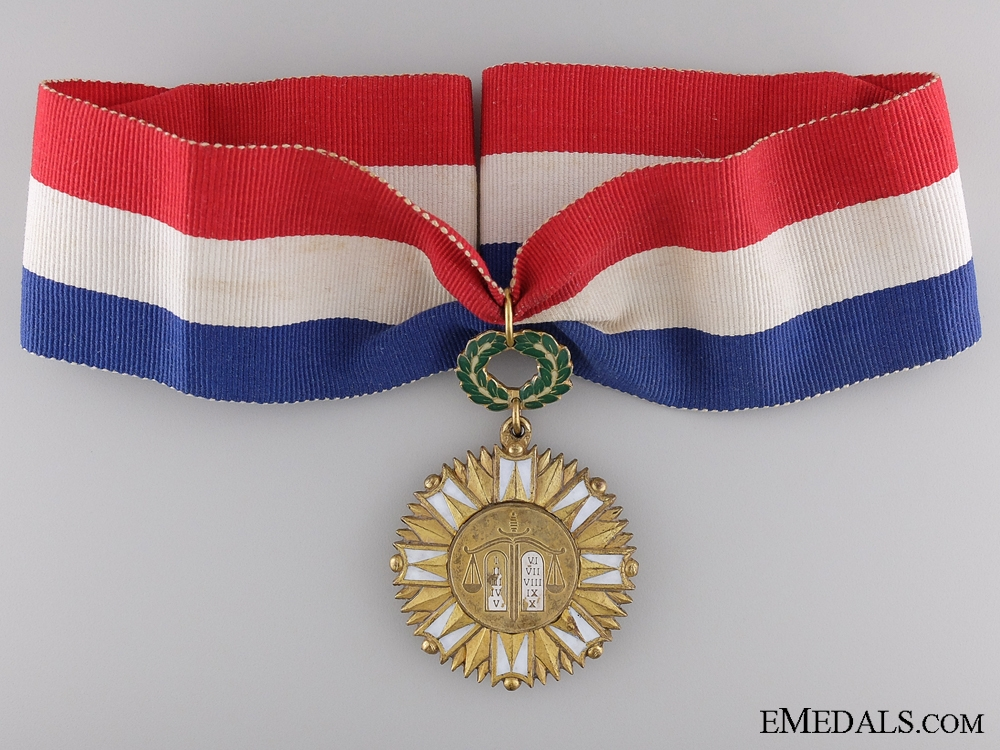 A 1950's Philippino Order of Kalantiao (Order of Kalantiaw)