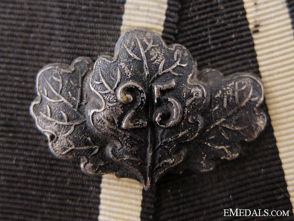 A Franco-Prussian Medal Bar with Jubilee Spange