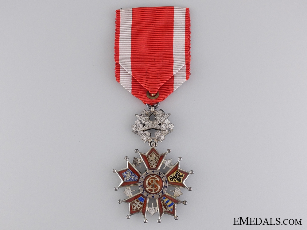 A Czech Order of the White Lion with Case of Issue