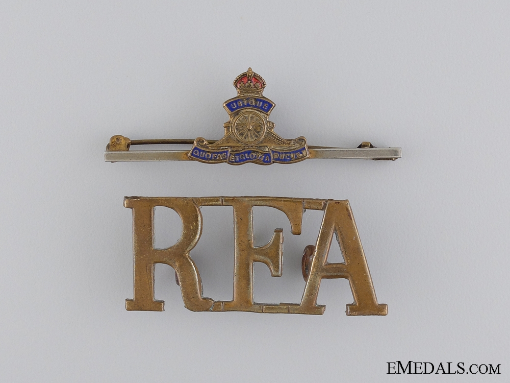 An Early First War Trio to the Royal Field Artillery