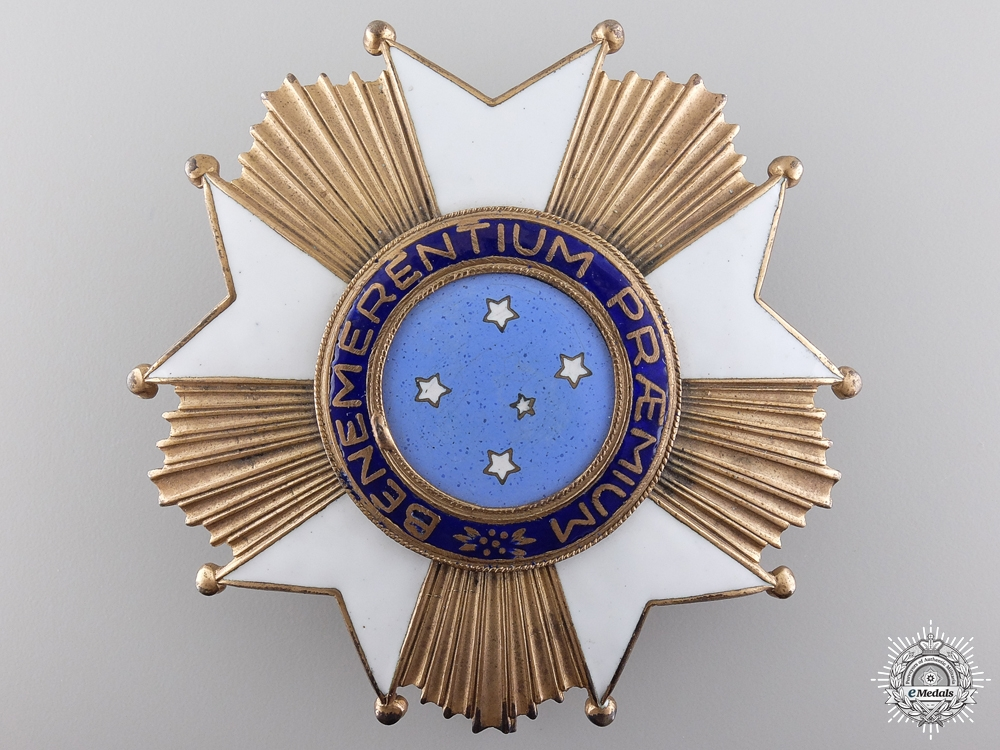 A Brazilian Imperial Order of the Southern Cross; Grand Cross