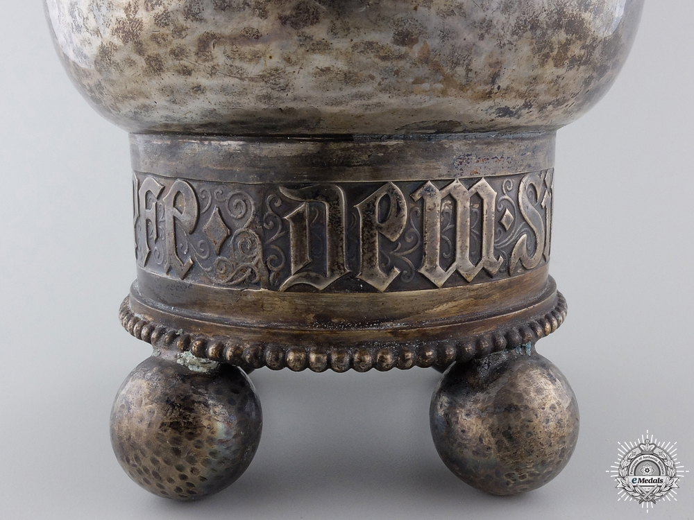 A First War German Silver Honor Goblet for Air Victories
