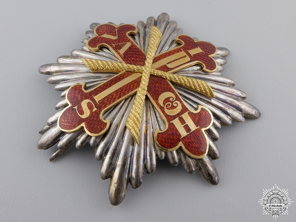 An Order of Constantine of St.George; Senator of Grand Cross