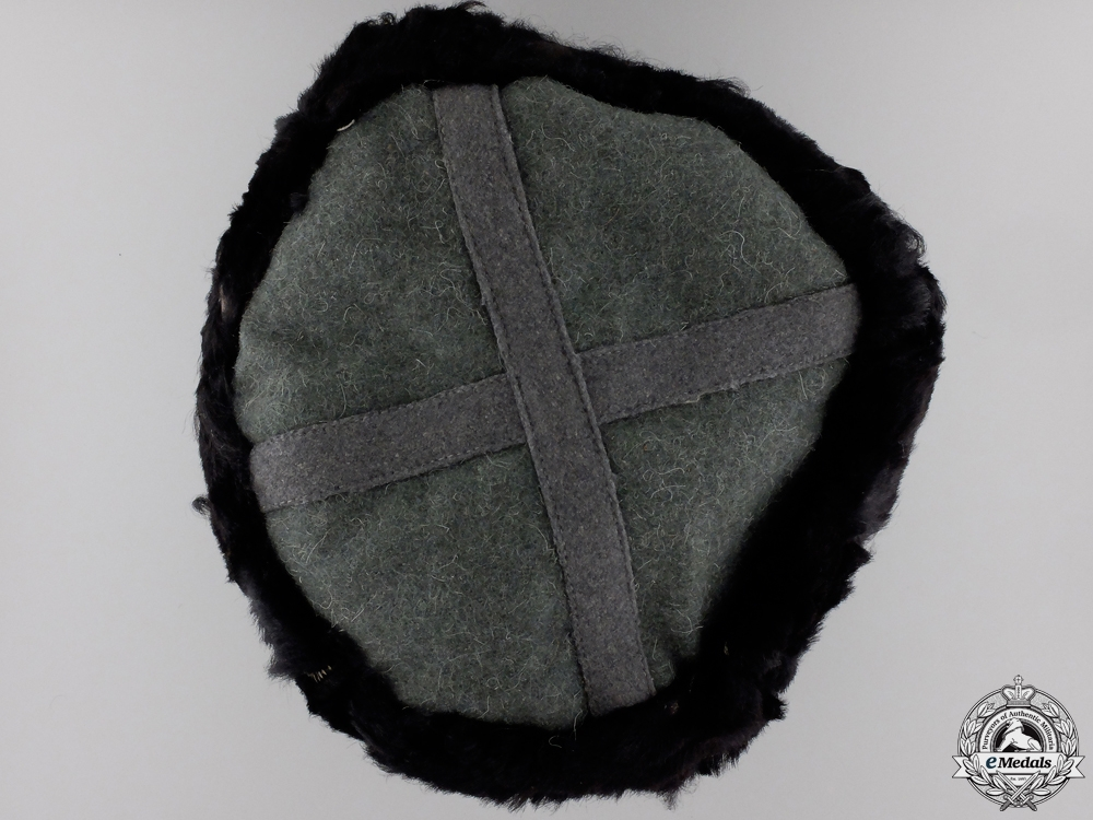 A Wehrmacht Fur Cap for Cossacks