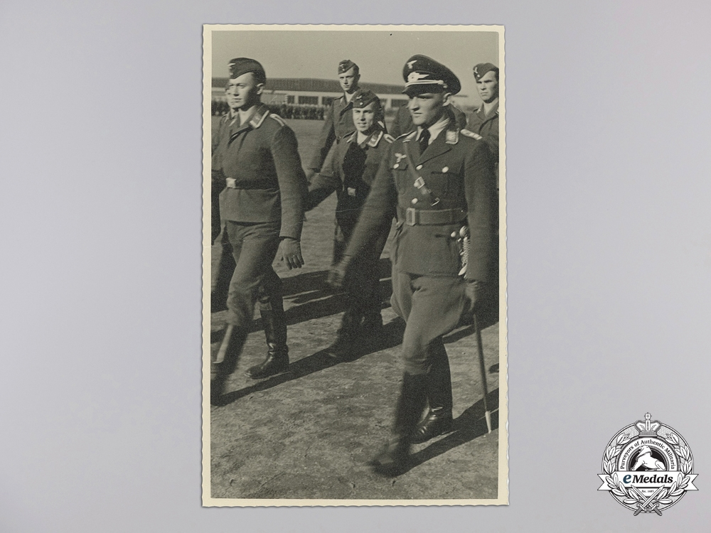 The Award Documents to Luftwaffe Ace Major Ludwig Franzisket