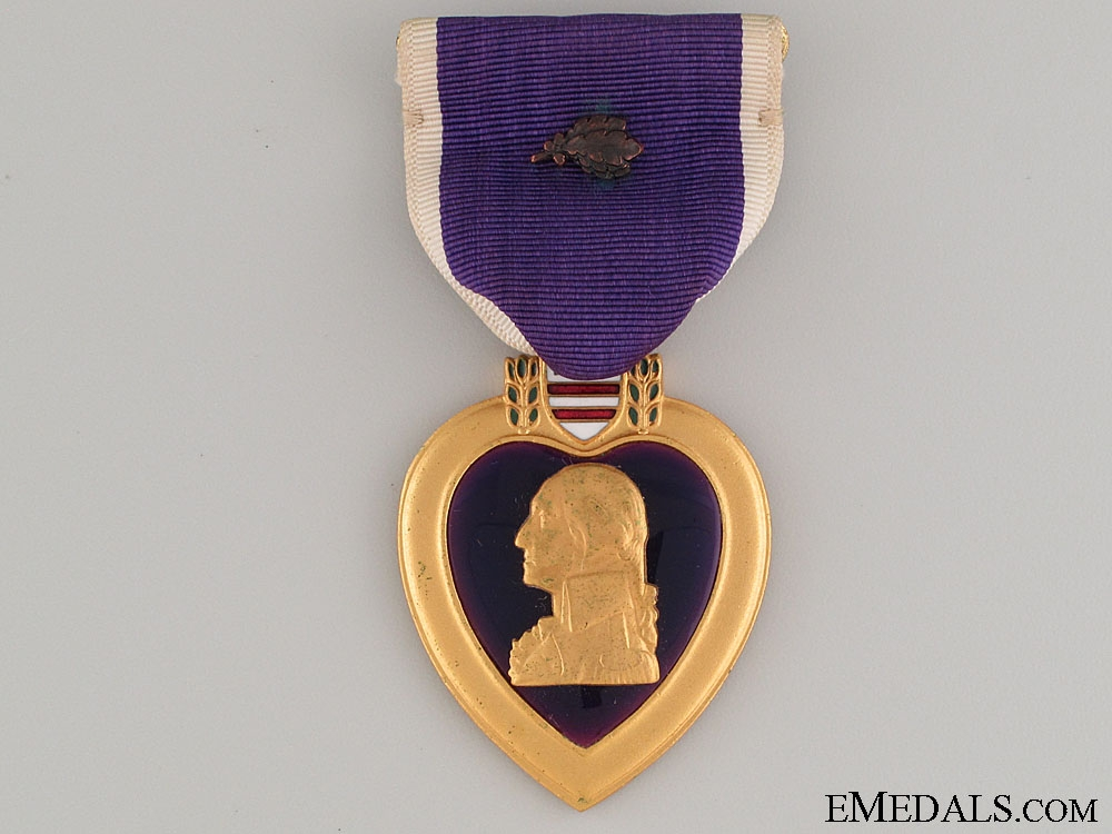 A Second War Purple Heart to Anthony Mature