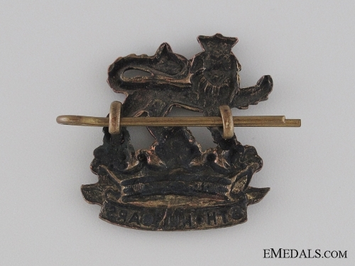 Pre-WWI 6th Duke of Connaught's Royal Canadian Hussars Collar Tab