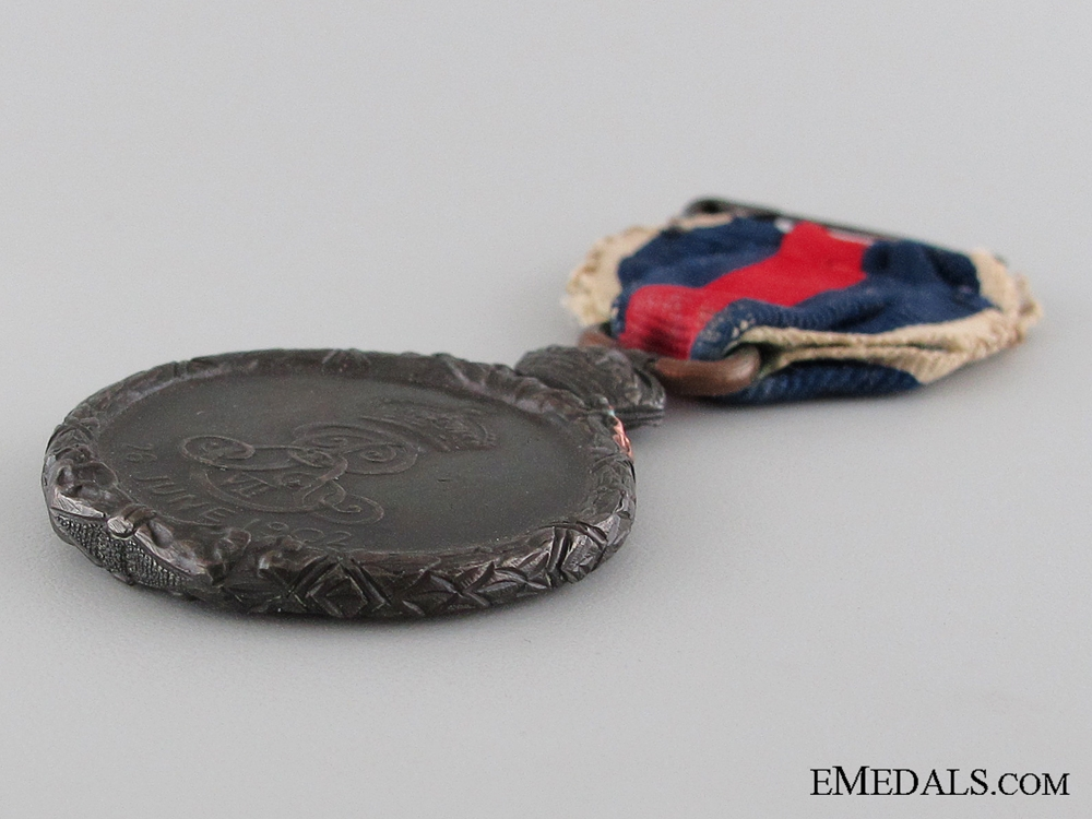 A Cased 1902 Coronation Medal
