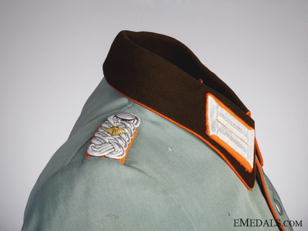 A German Rural Field Police Officer's Dress Tunic