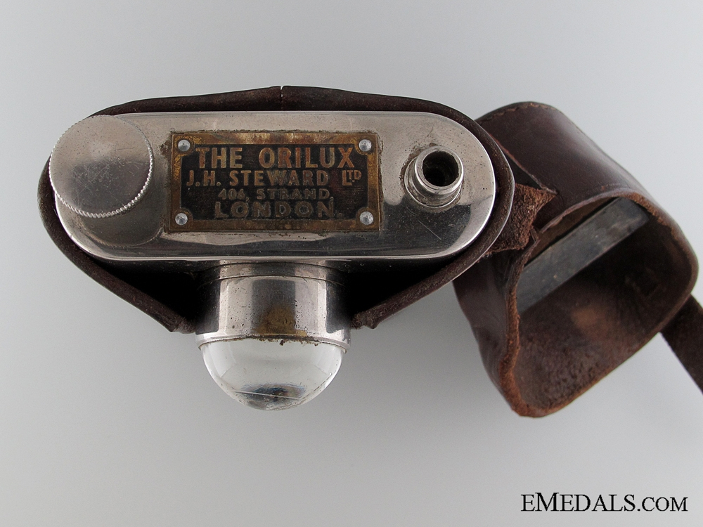 WWI Officer's Orilux Trench Torch