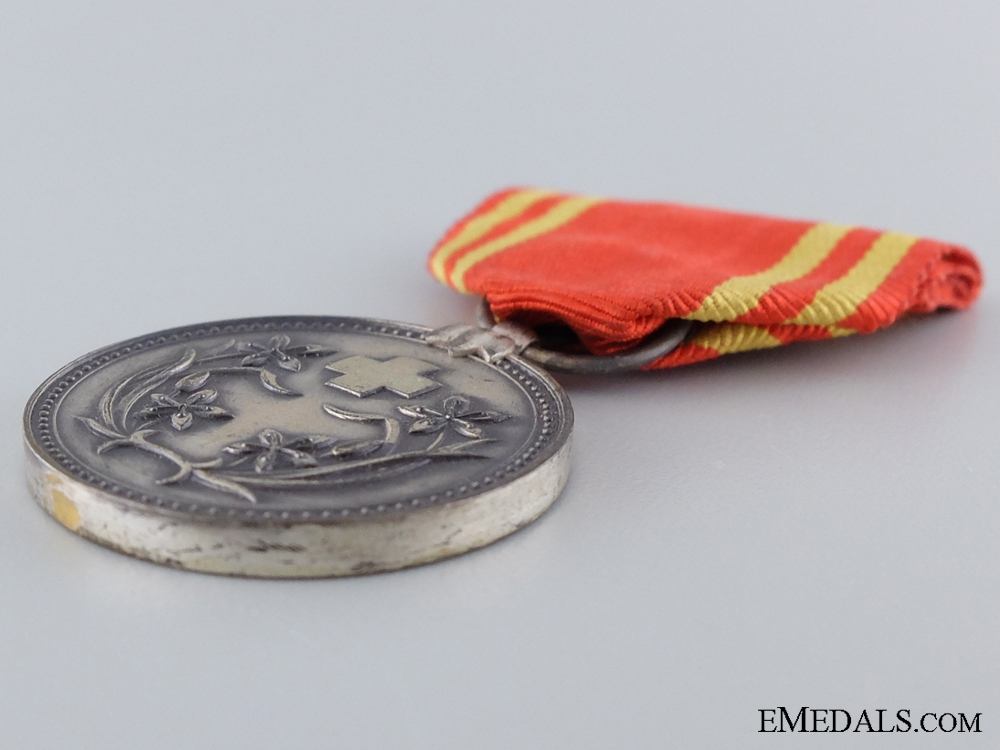 A Manchukuo Red Cross Medal