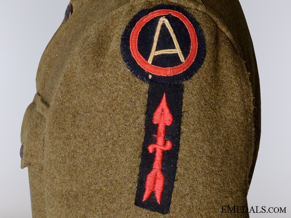 A First War American 3rd Army; 32nd Division Doughboy Tunic