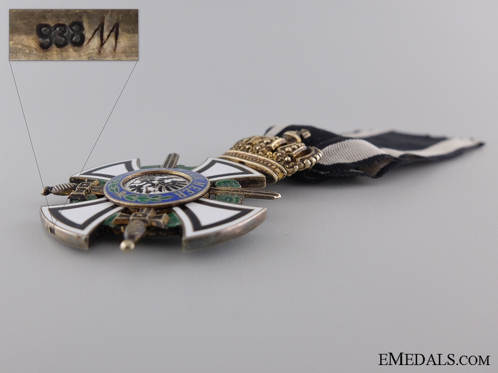 A Prussian House Order of Hohenzollern; Knight with Swords
