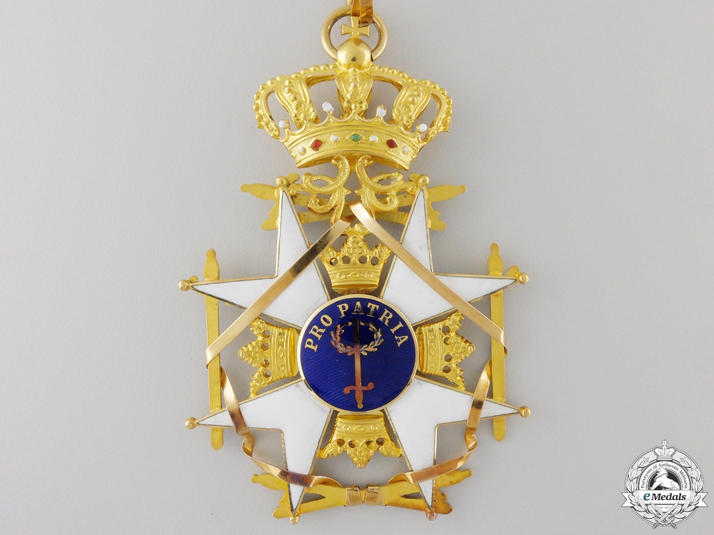 A Swedish Order of the Sword to Air Force Section Chief; Grand Cross Set