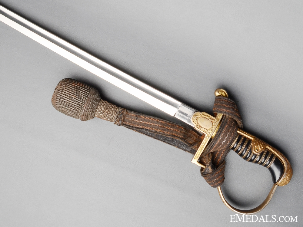 Dove's Head Army Officer's Sword by Alexander Coppel