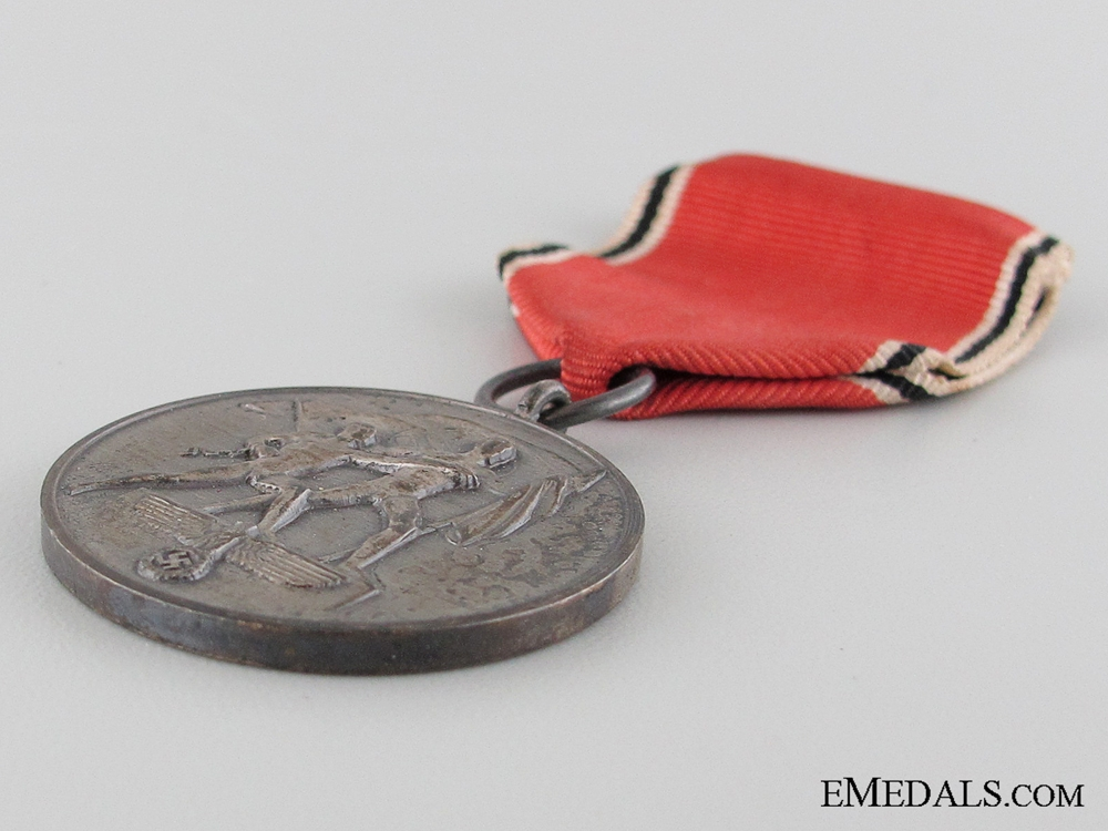 A Cased Commemorative Medal 13 March 1938