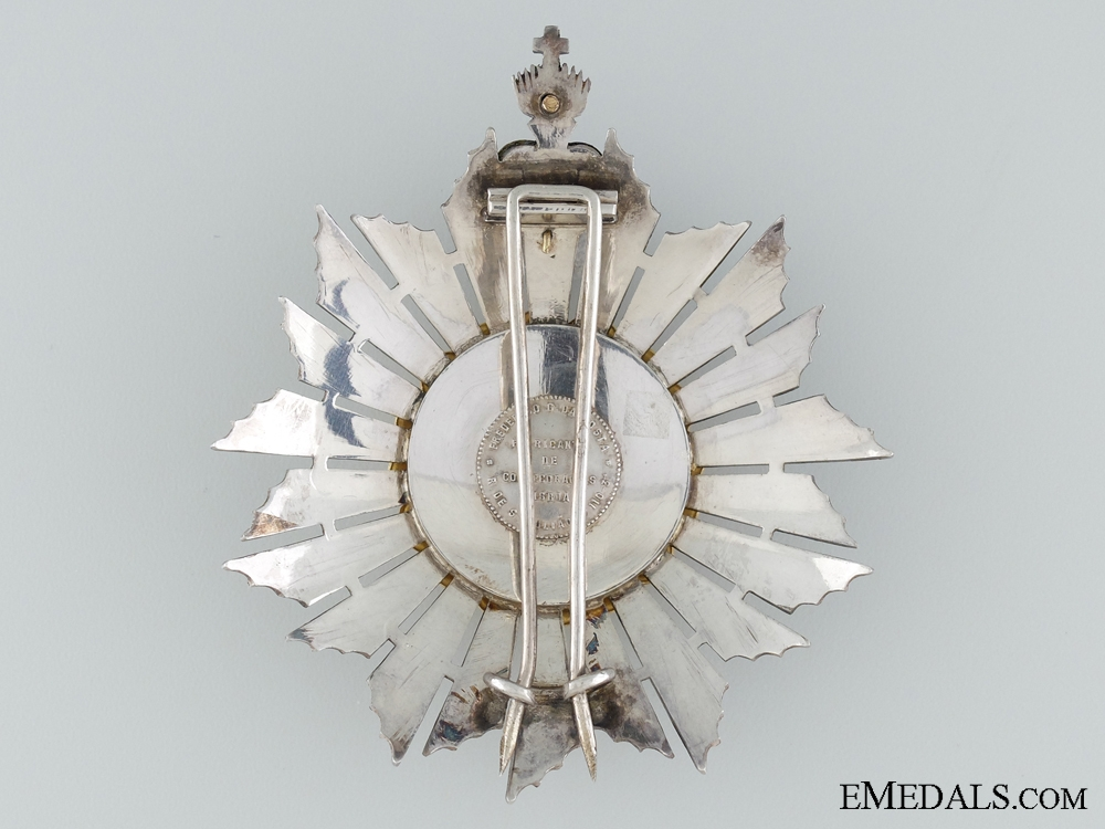 The Portuguese Military Order of the Christ c.1900; Grand Cross