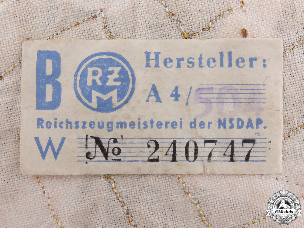 A Reich Level Leiter eines Amtes Armband; RZM Tag