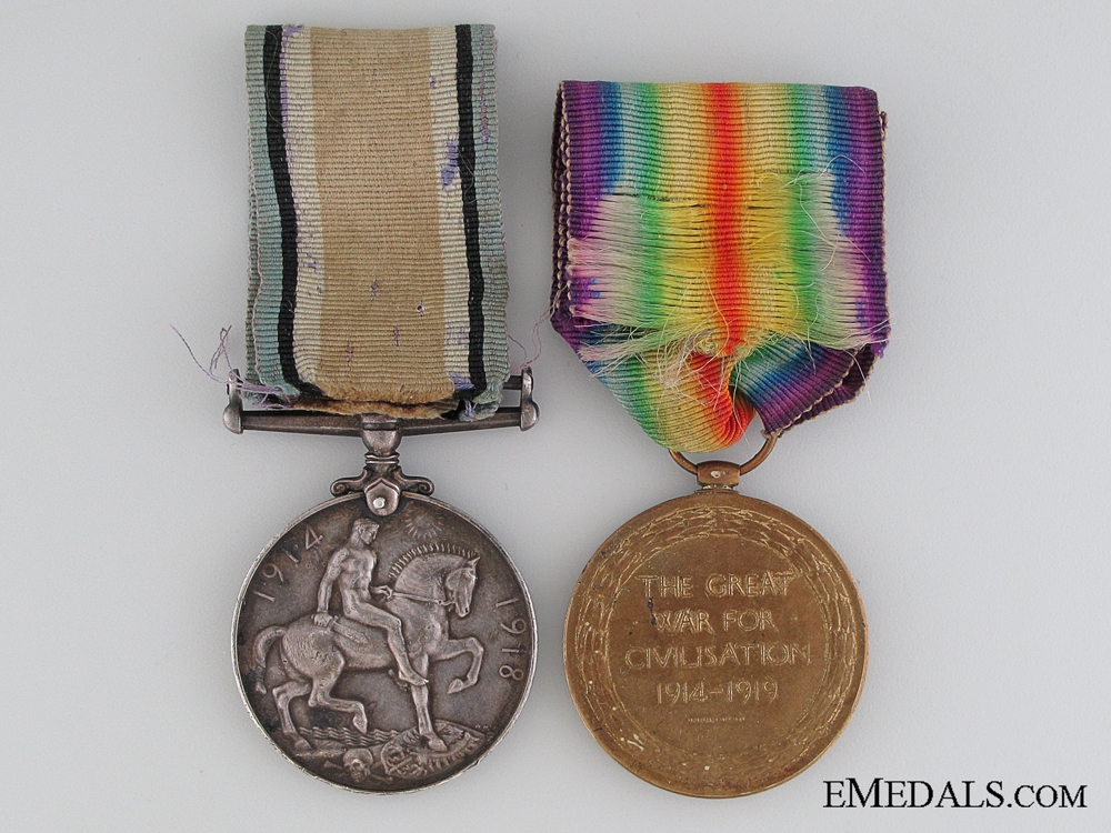 A First War Pair to the Canadian Railway Troops