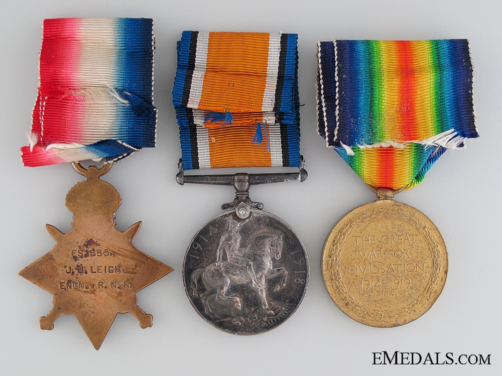 Great War Trio to the Royal Naval Reserve