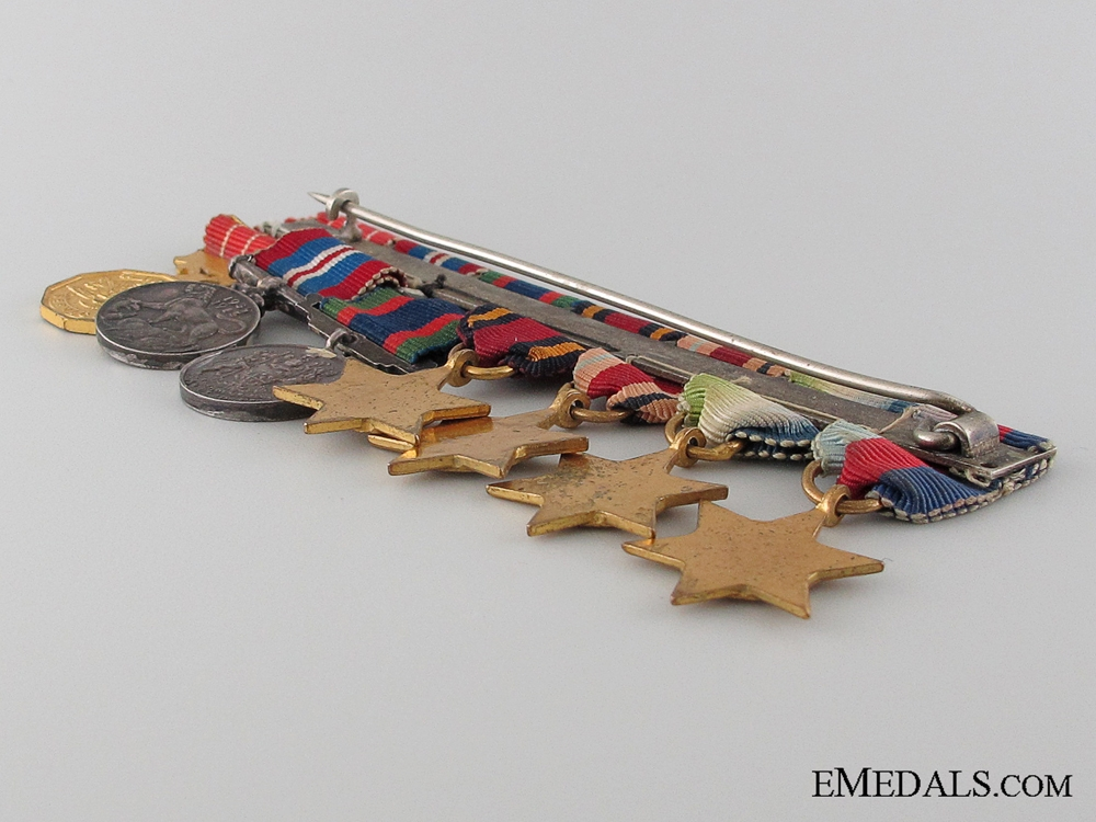 WWII Canadian Miniature Group of Seven