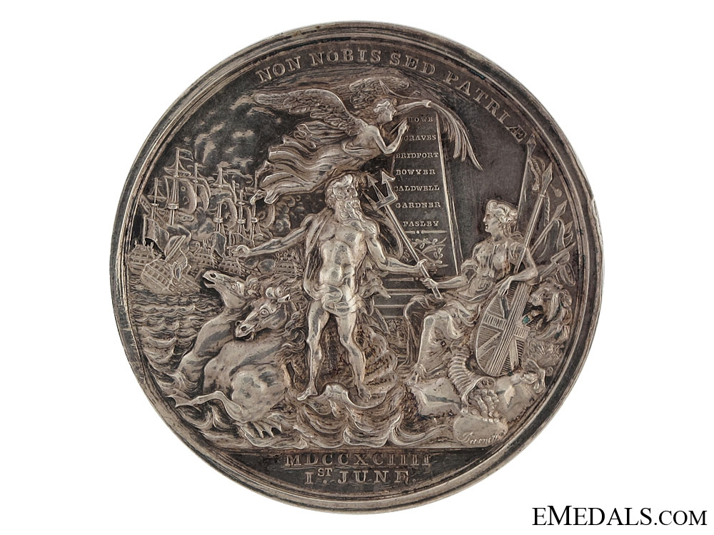 Earl Howe's Medal for the Glorious 1st of June
