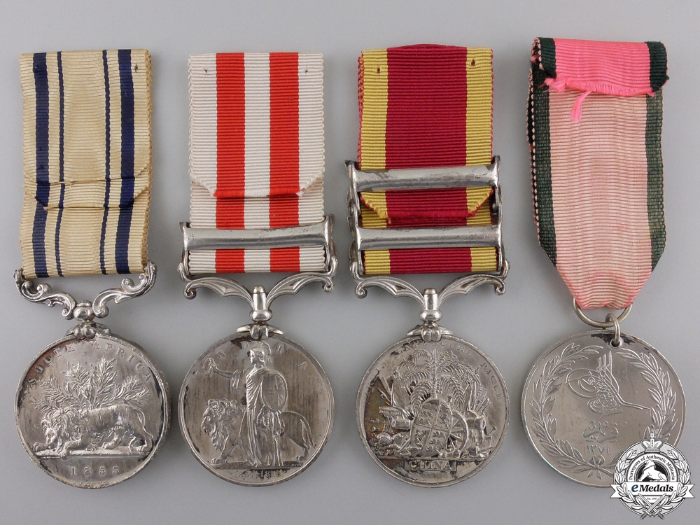 An Important Group of Awards to the Colonel of the 86th Foot