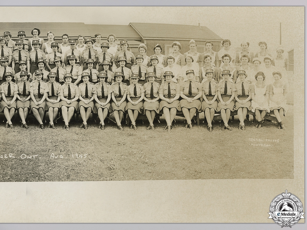 A British Empire Group to the Canadian Women's Army Corps