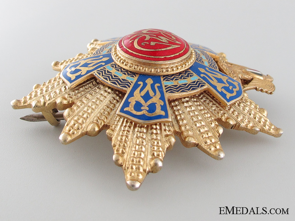 The Egyptian Order of the Republic; Grand Cross Set