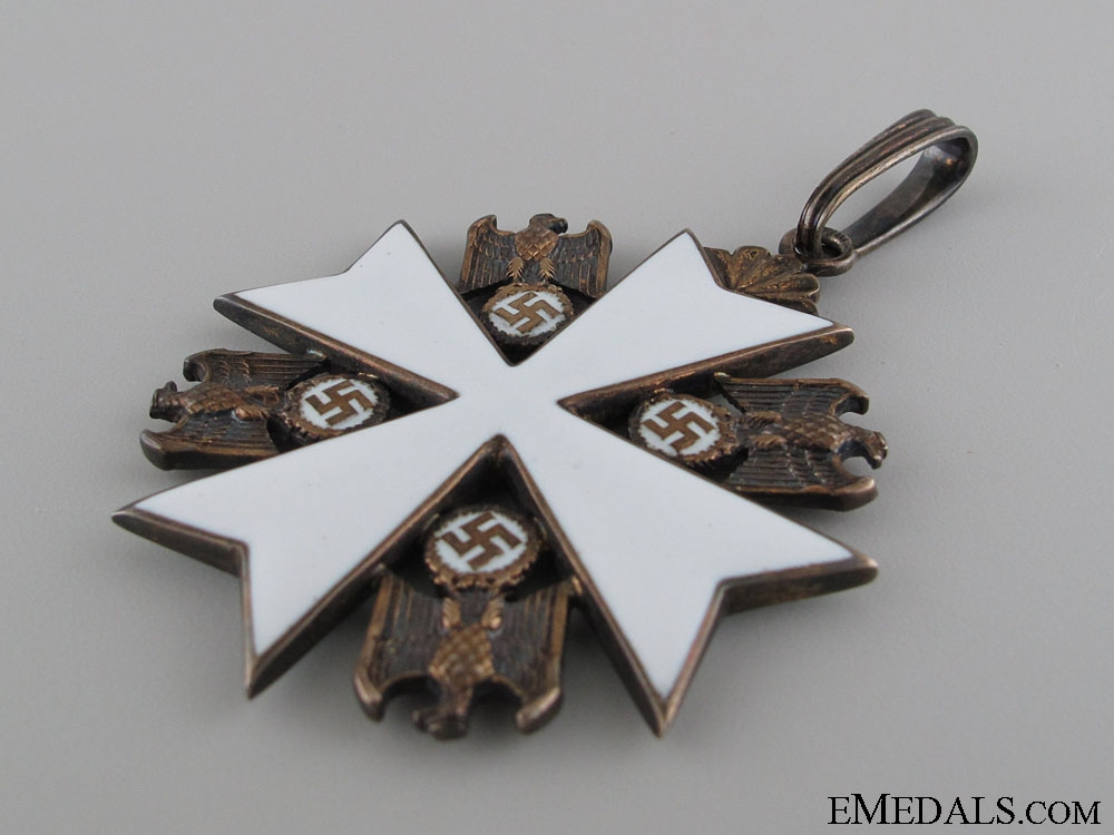 An Order of the German Eagle by Godet; Second Class Set