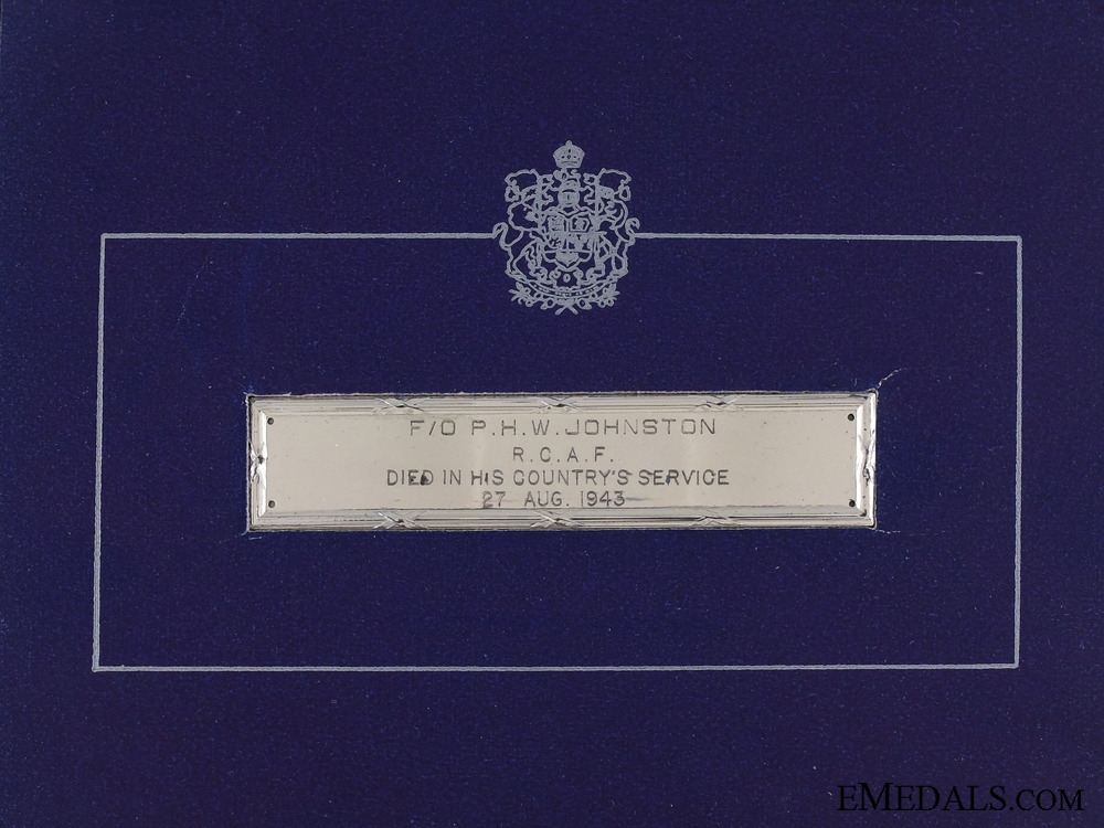 A Second War Canadian Memorial Cross for No.200 Squadron RAF 1943