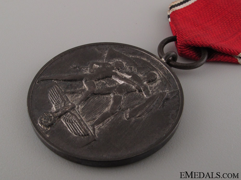 13th March 1938 Commemorative Medal