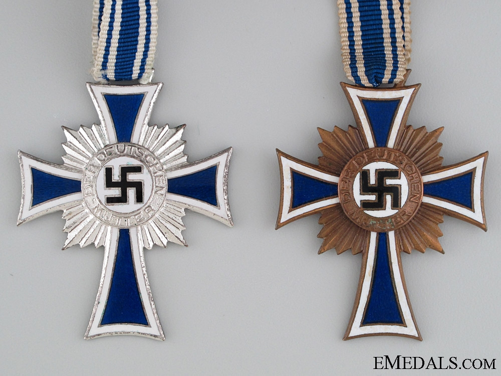 Silver and Bronze Grade Mother's Crosses