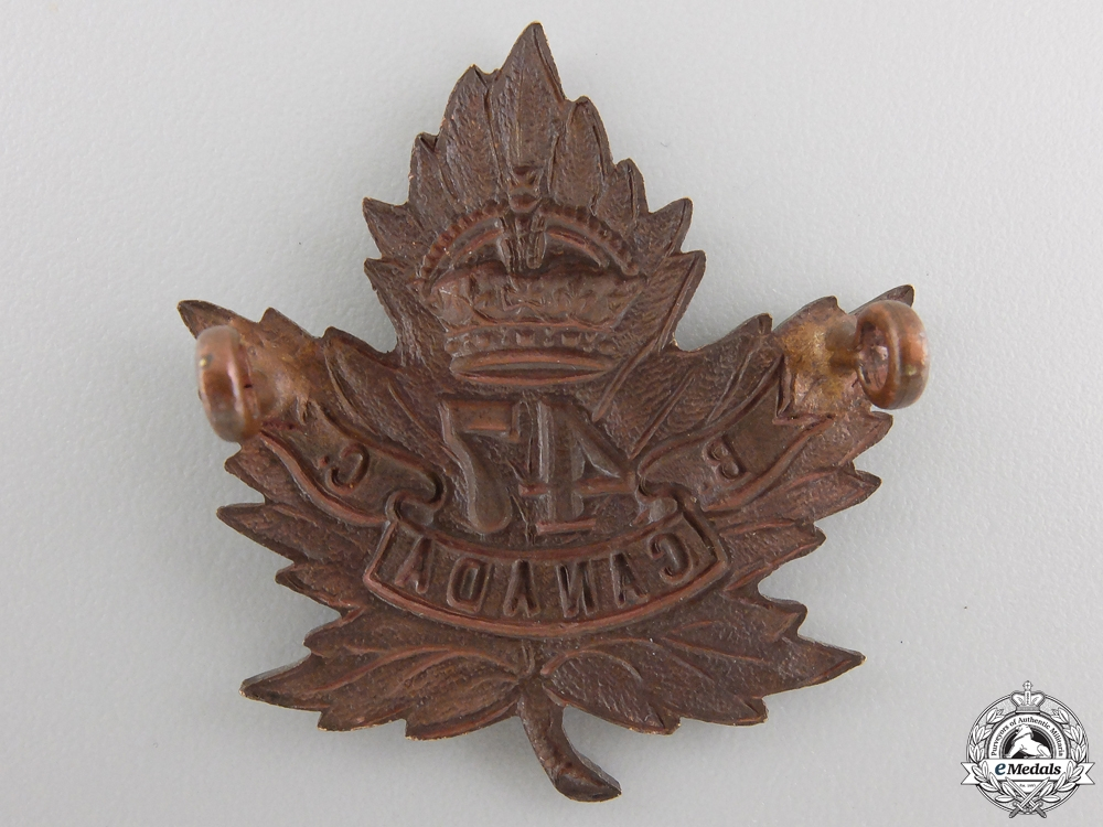 A First War 47th Infantry Battalion Cap Badge