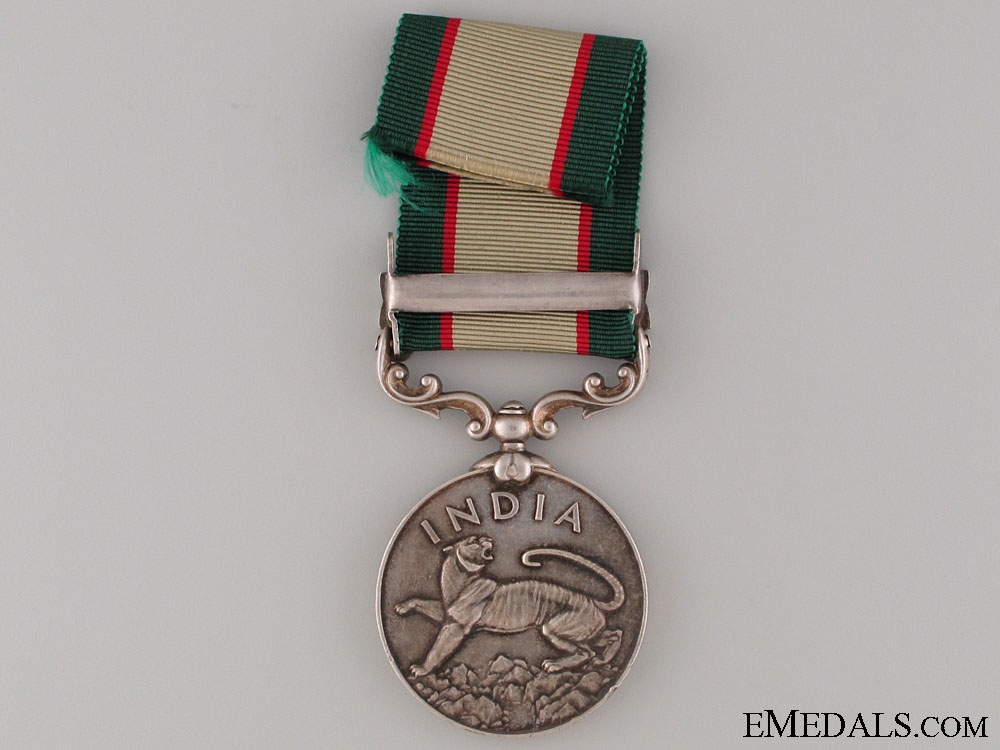 India General Service Medal - Bombay Sapper & Miners