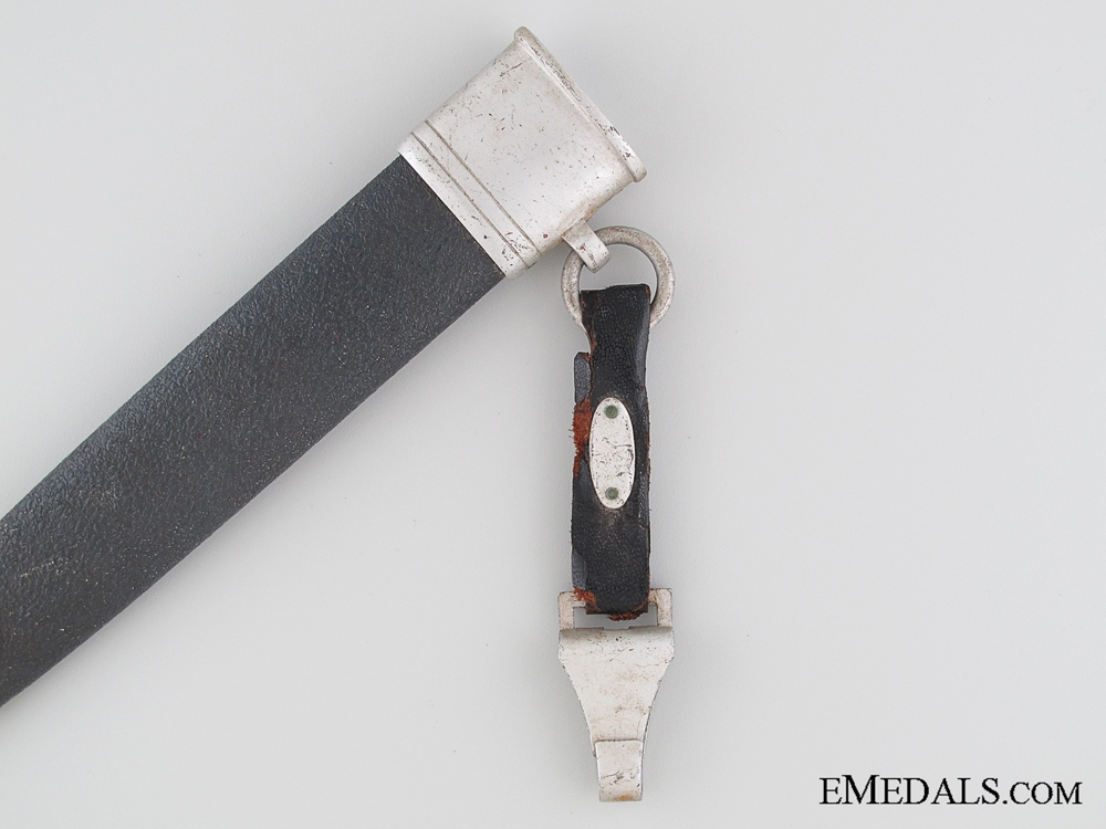 An Aluminum NSFK Flyer's Knife with Hanger by F.& A. HELBIG