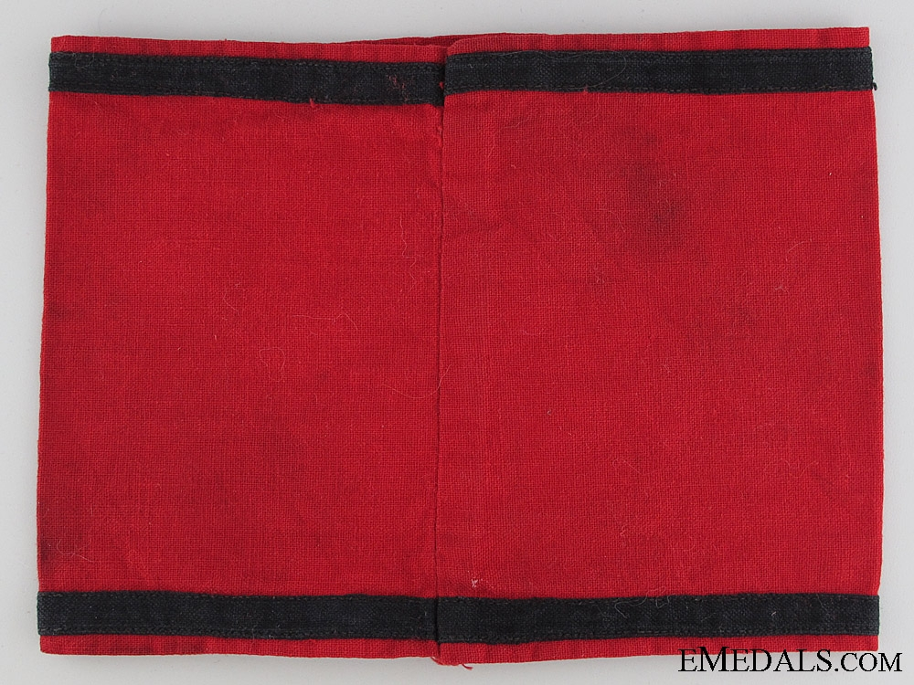 An Early (Brown-Shirt) SS Armband (Kampfbinde)