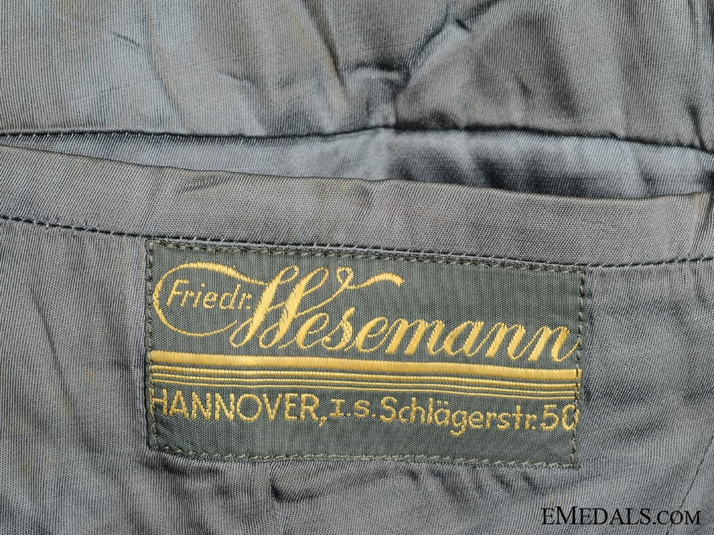 A M35 Waffenrock by Hesemann with Awards