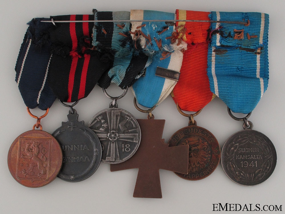 A WWI & WWII Finnish Medal Group