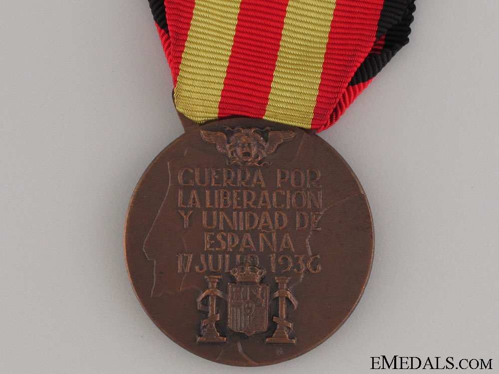 Medal of the Spanish Campaign 1936-1939