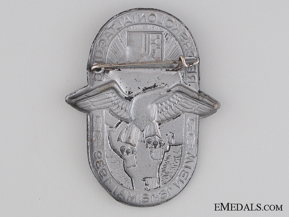 1939 German Colonial Force Conference Tinnie