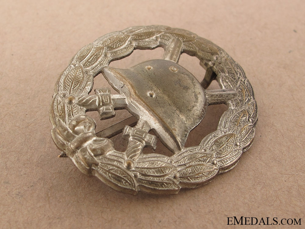 WWI Wound Badge – Silver Grade
